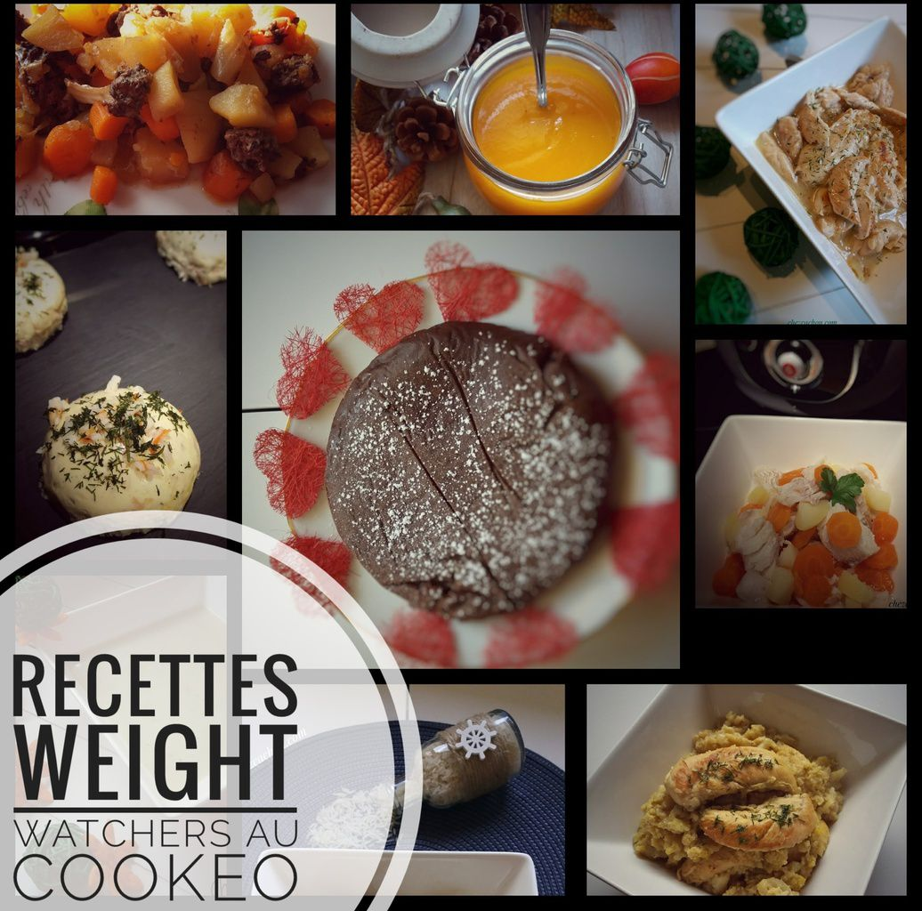 Idees Recettes Weight Watchers Au Cookeo Chezcachou