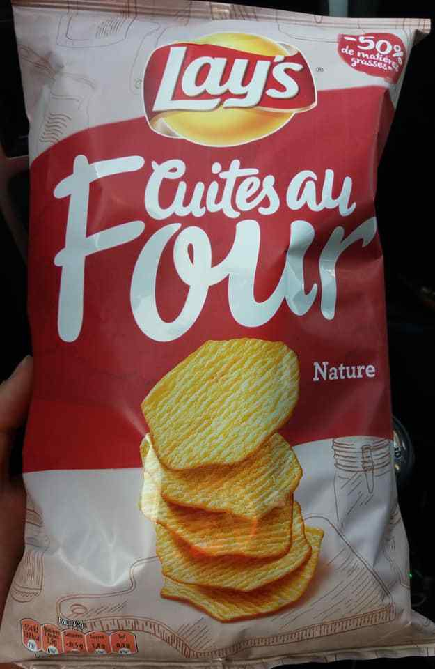 30 g chips Lay's cuites au four : 4 sp