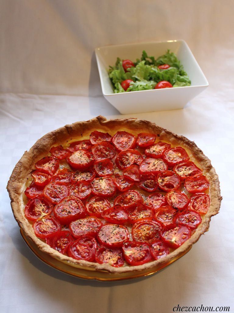Tarte bacon tomates recette Weight Watchers