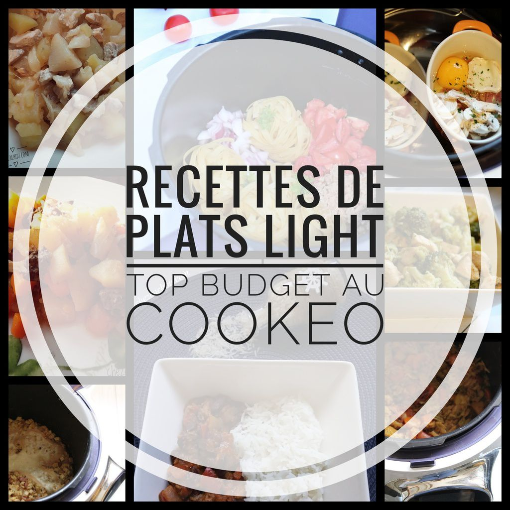Recettes De Plats Light Top Budget Au Cookeo Chezcachou