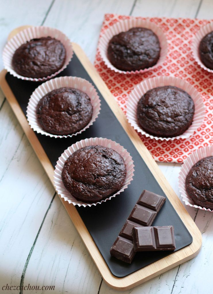 Muffin chocolat courgette