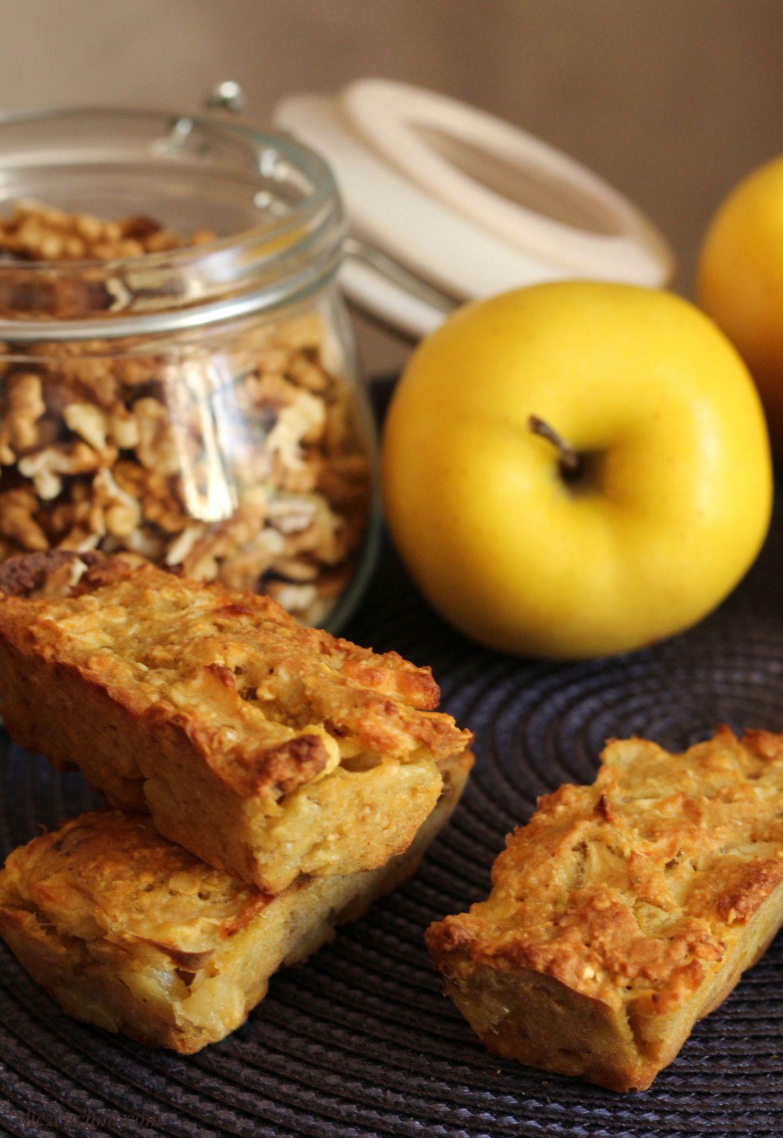 Barres aux pommes et noix recette Weight Watchers