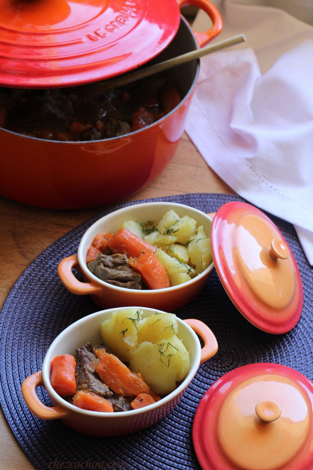 Bœuf carottes de Marie Laure