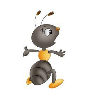 La cigale et la petite fourmi