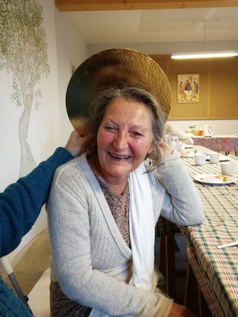 la fête des 70 ans de Christiane