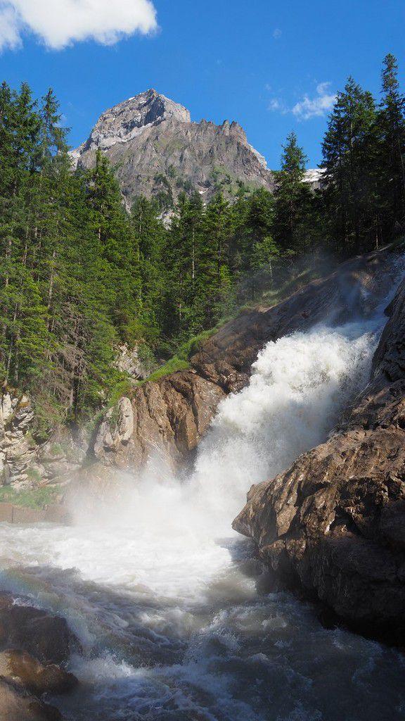 BE: Les cascades de la Simme