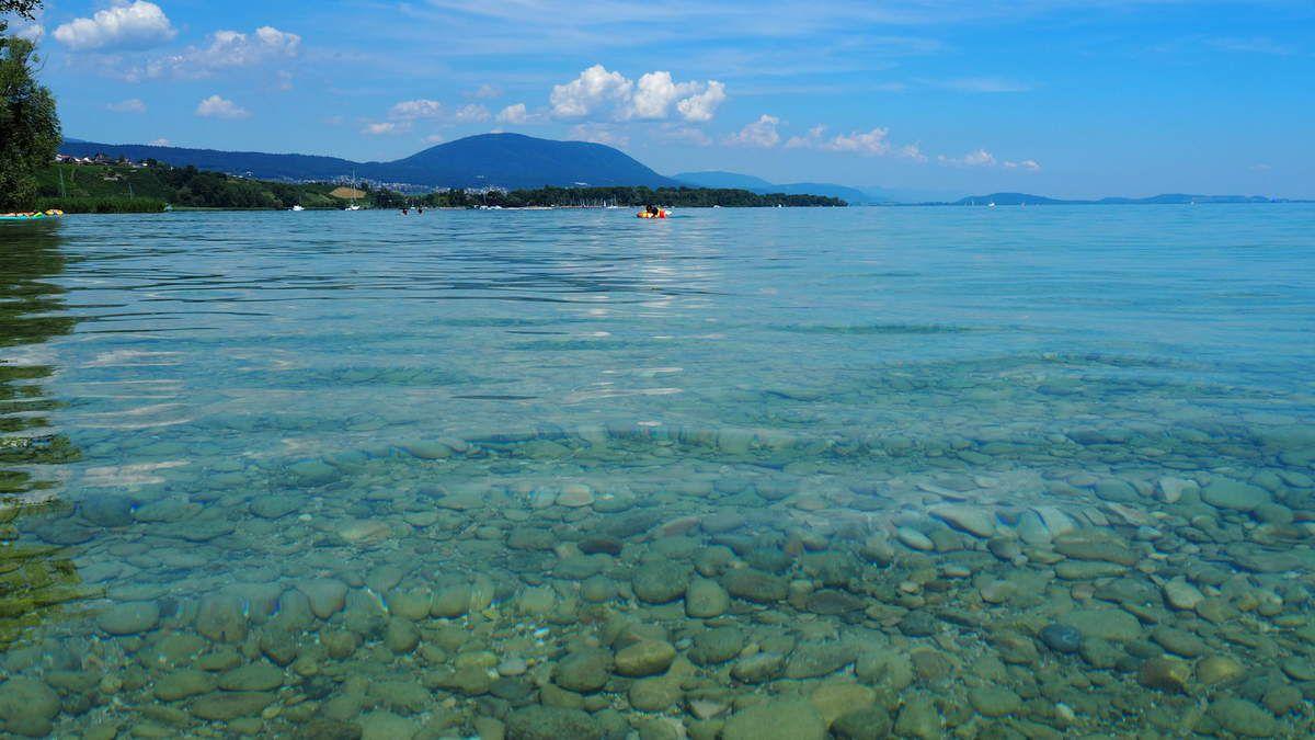 Un été tout en bleu en Suisse