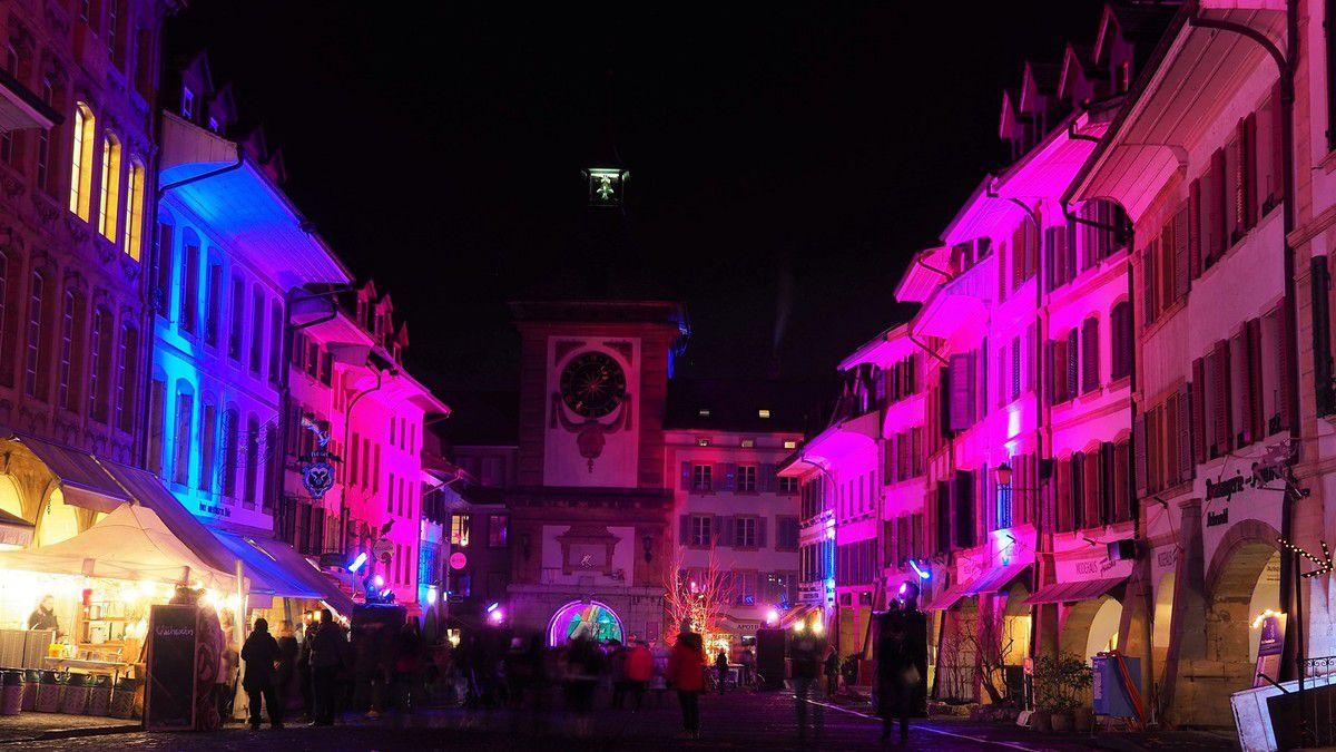 Festival des lumières de Morat - Murten Licht-Festival