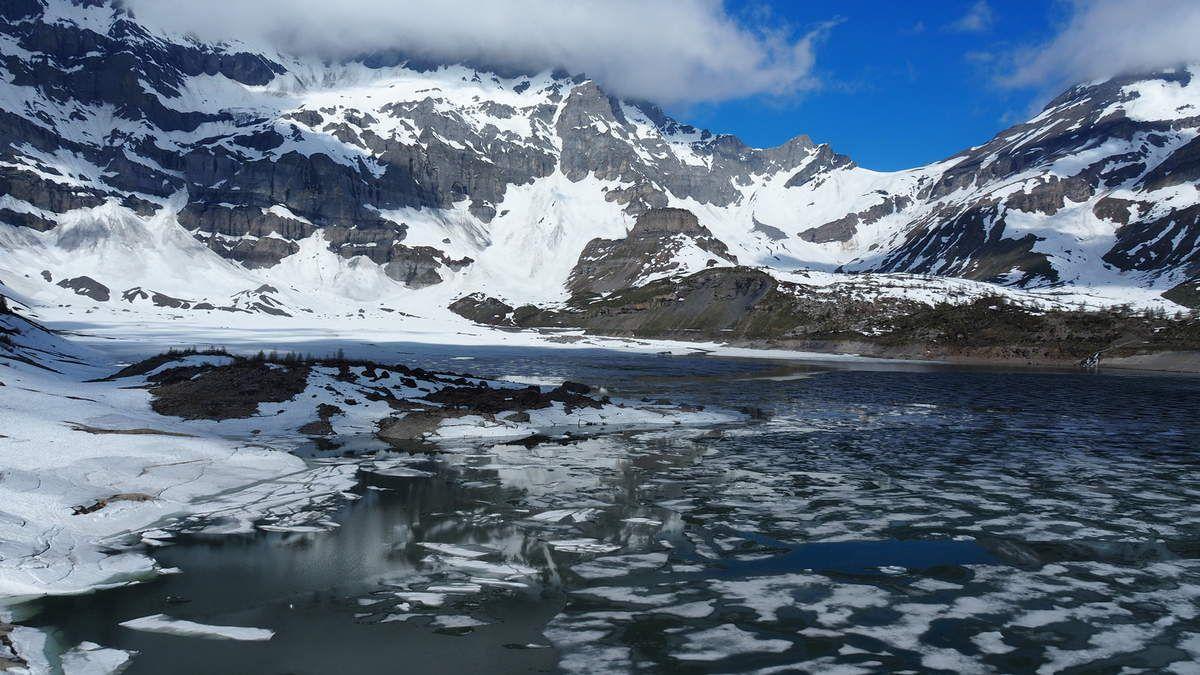 Lac de Salanfe, Valais