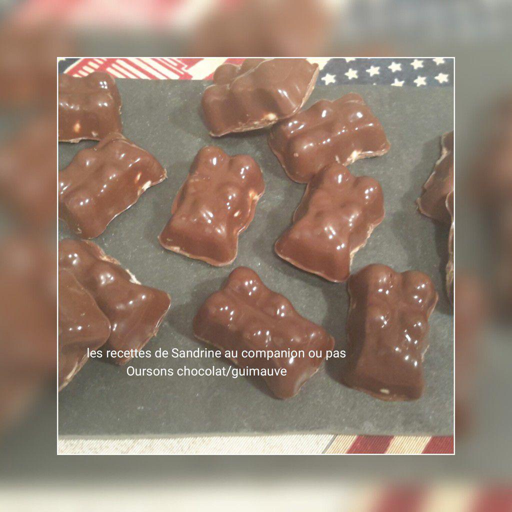 Oursons chocolat/guimauve recette facile et inratable