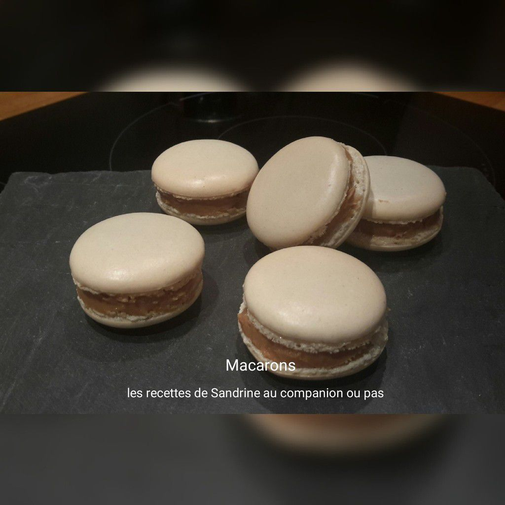 Macarons (recettes des coques au companion, thermomix ou i cook'in