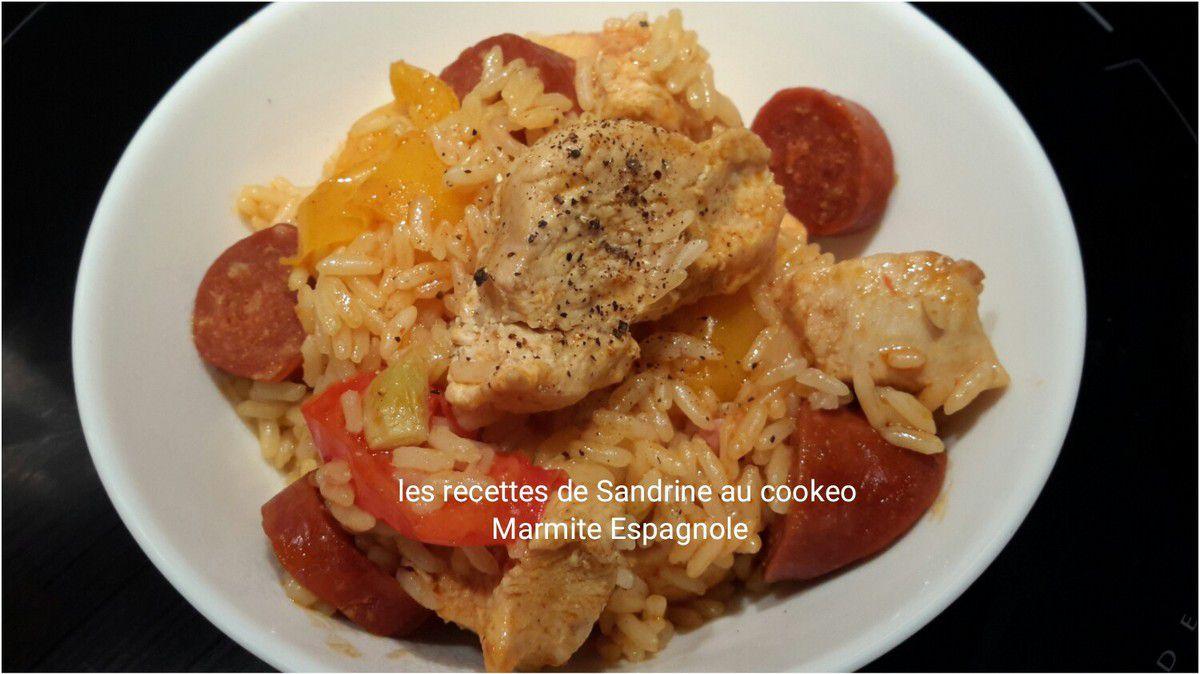 Marmite espagnole au cookeo