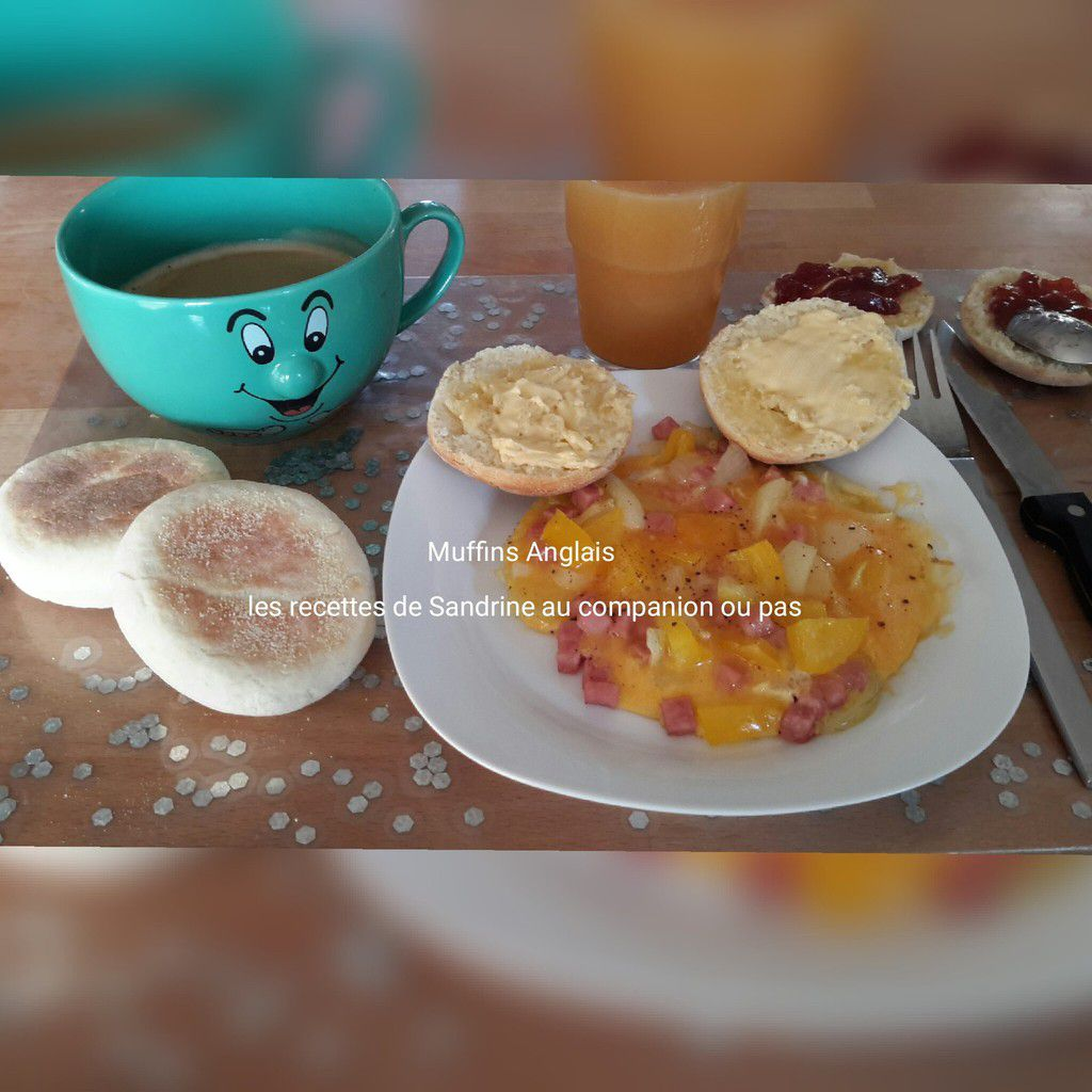 Muffins Anglais au companion, thermomix, i cook'in ou sans robot