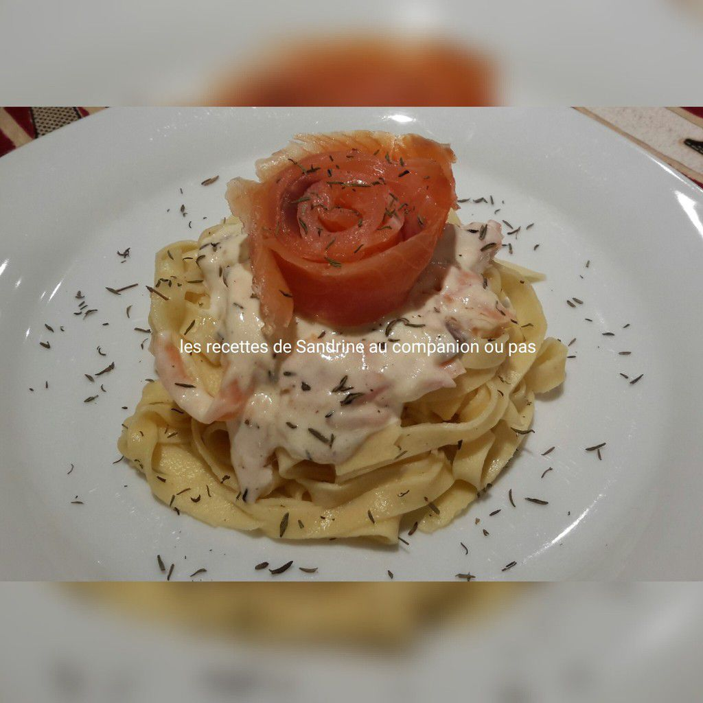 Pâtes au 2 saumons facile rapide et inratable