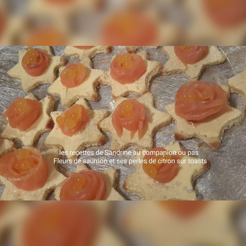 Fleurs de saumon