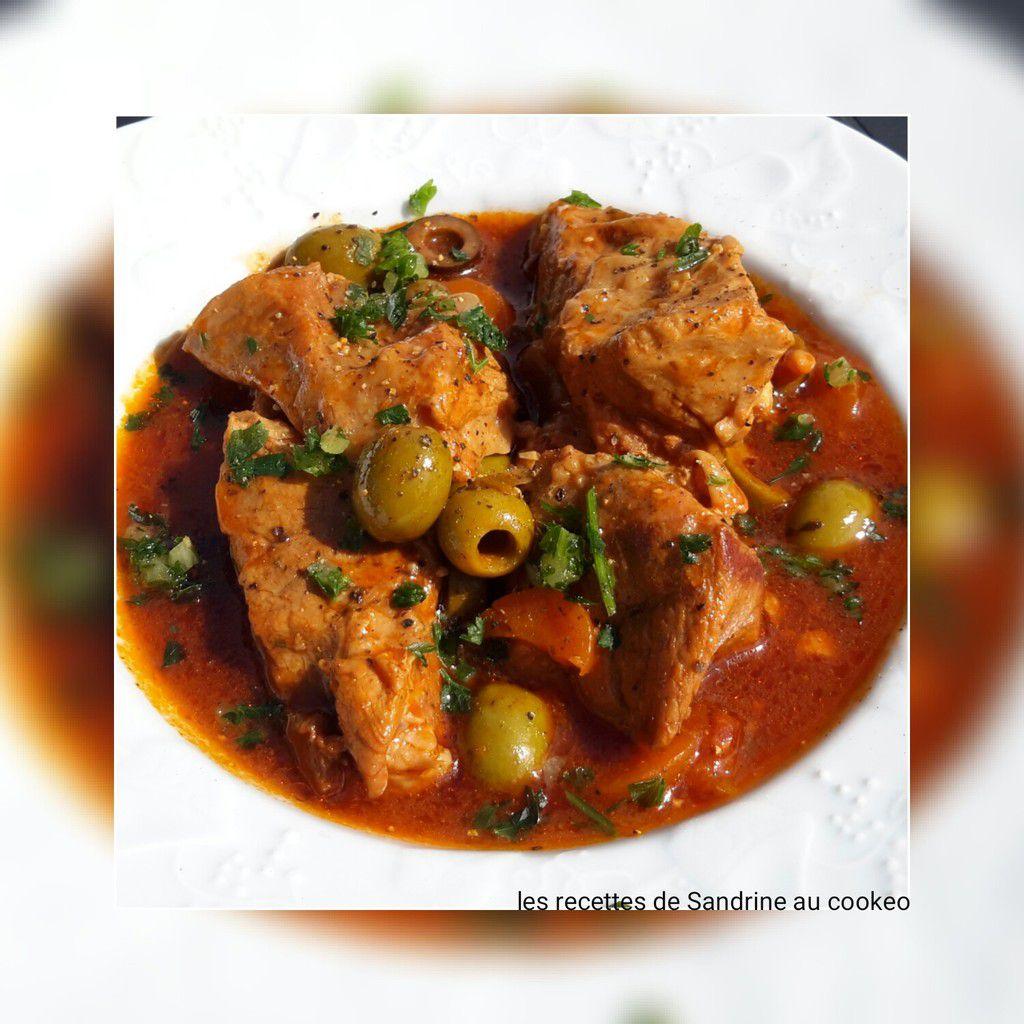 Sauté de veau aux olives recette facile au cookeo companion thermomix ou sans robot