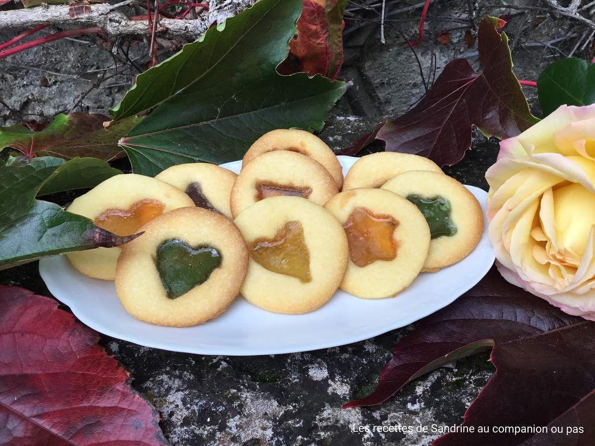 Biscuits vitraux recette facile au companion thermomix ou sans robot