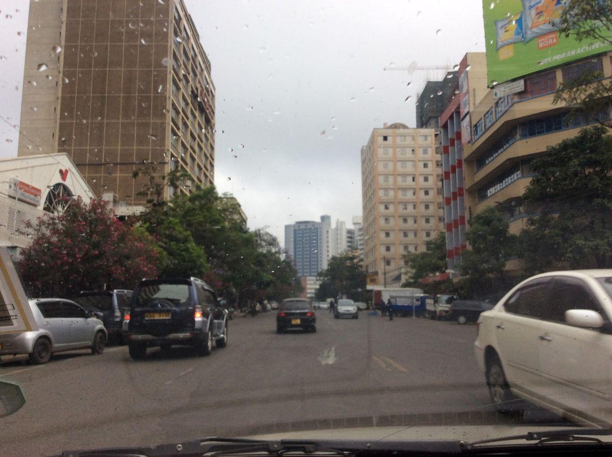 Une rue du centre-ville