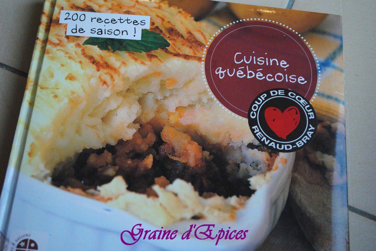 Lecture gourmande : Cuisine Québécoise
