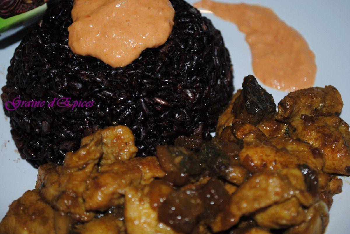 Poulet sauce Satay & Riz Otello Thaï