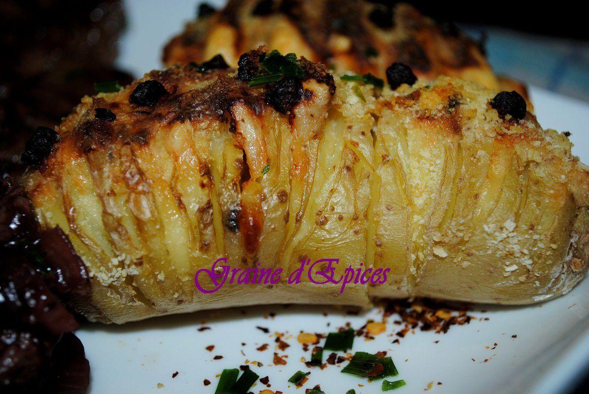 Bavette sauce Echalote & Pommes de terre Suédoises