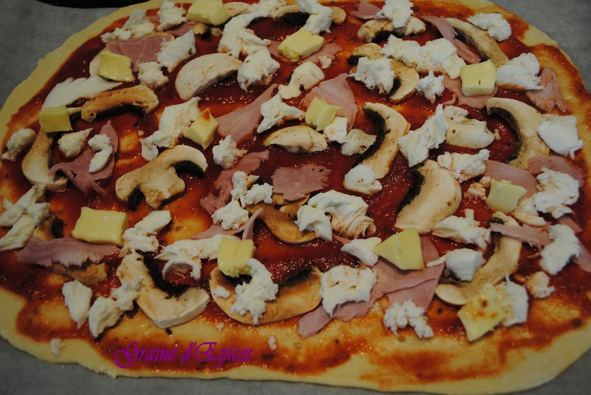 Pizza Regina au Camembert