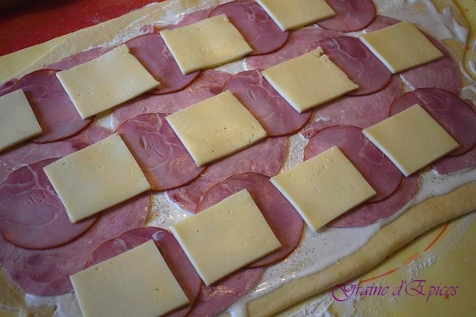 Chinois Jambon, Bacon & fromage à Raclette