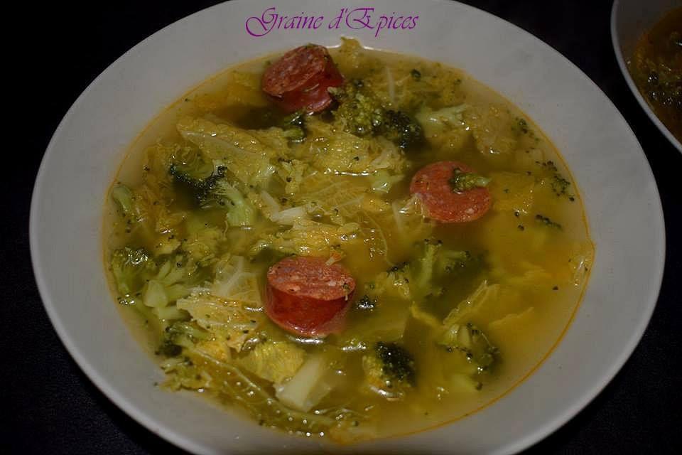Soupe aux Choux & aux Brocolis