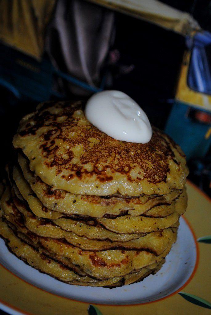 Chorreadas (Pancakes du Costa Rica)