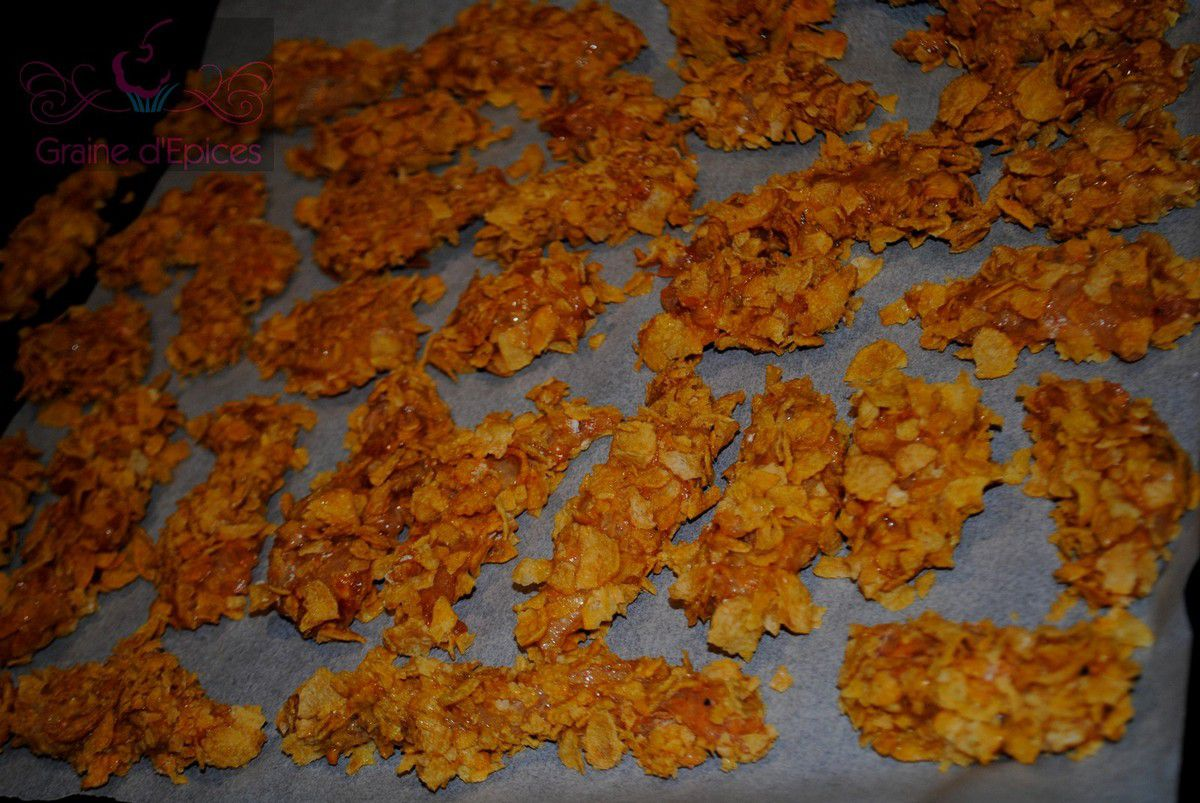 Nuggets aux Corn Flakes