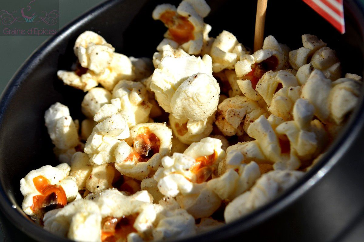 Pop-corn sucré au Cookéo