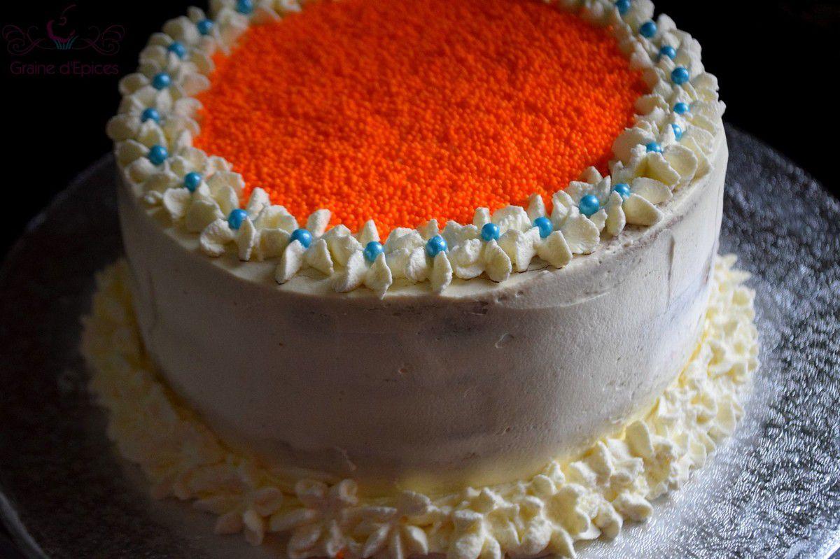 Gâteau à la Fraise & à la Crème de Mascarpone