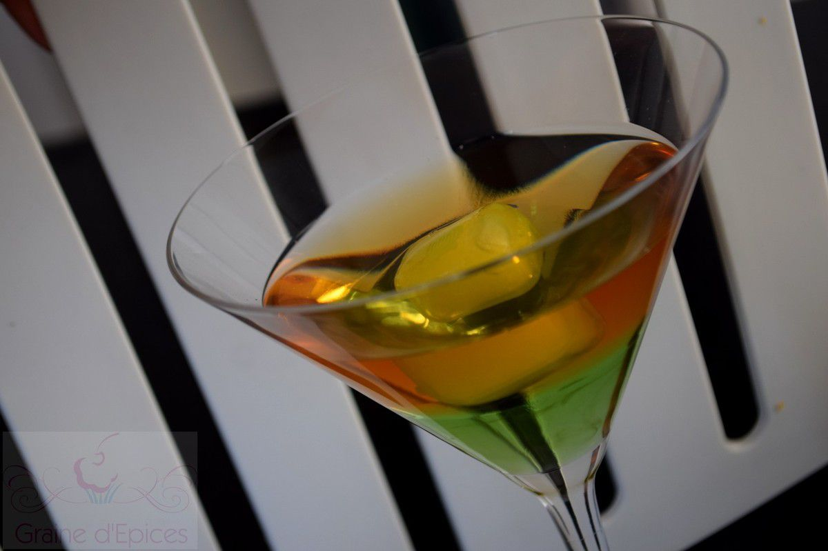 Cocktail Martini-Pomme Verte