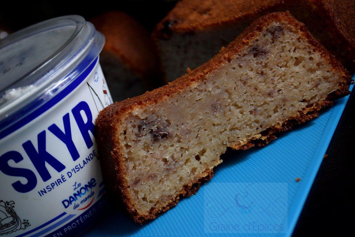 Gâteau au Skyr & à la Confiture de Myrtille