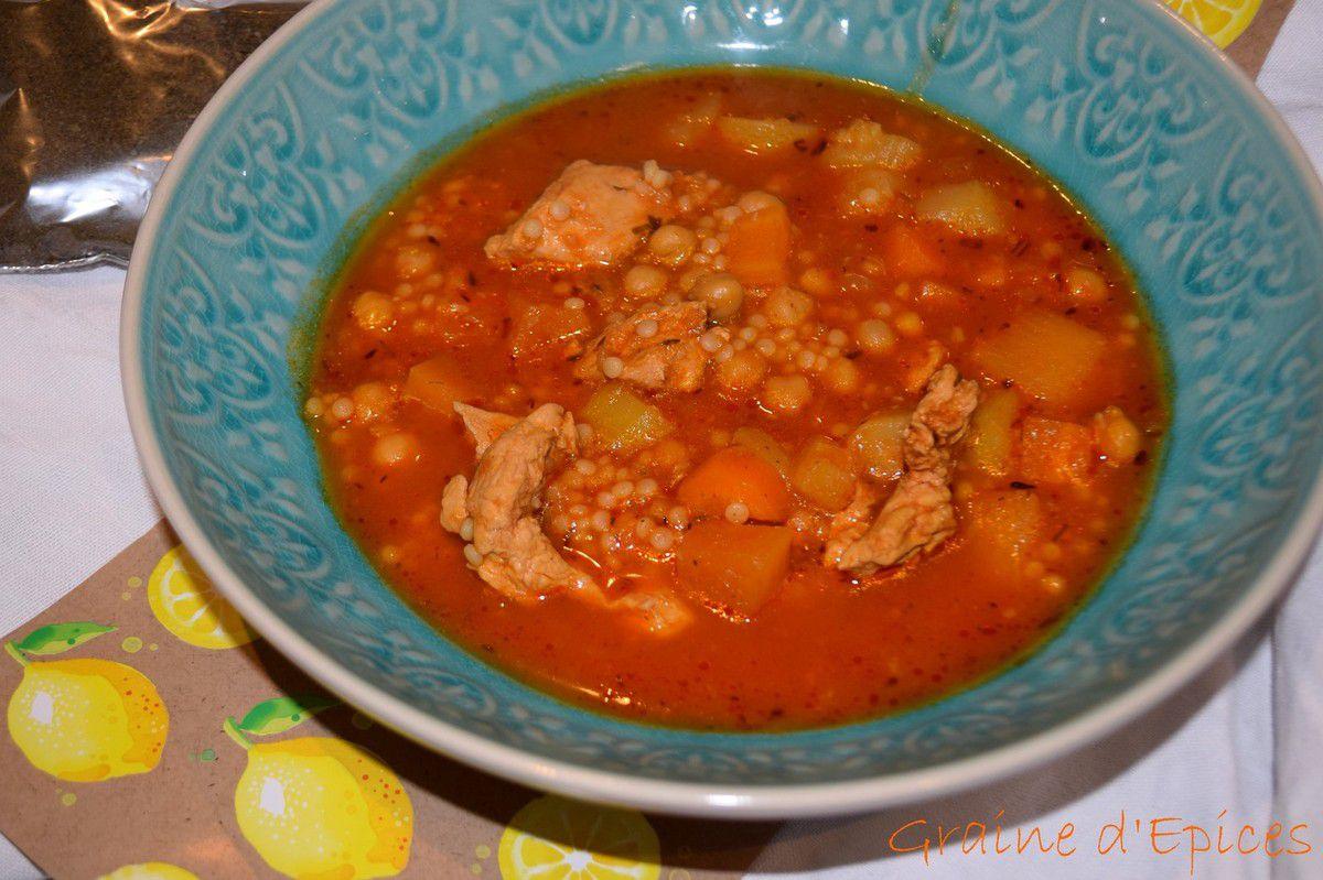Berkoukes (Soupe Algérienne)