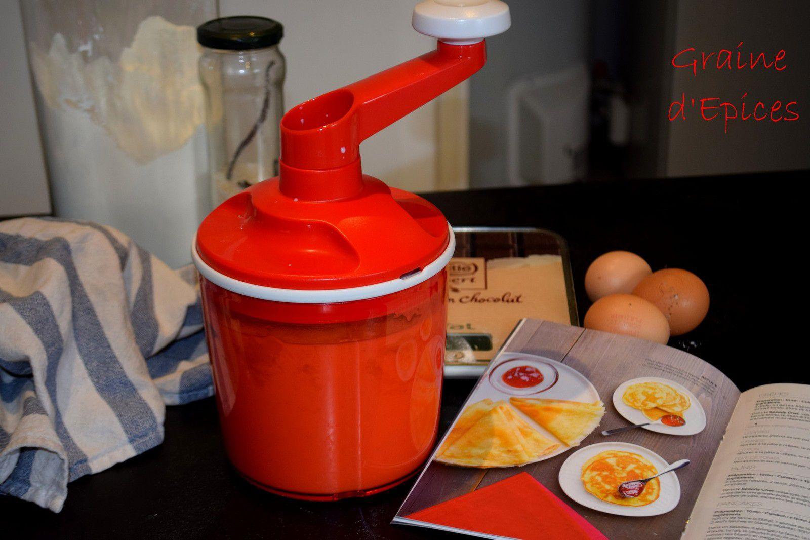 Crêpes au Speedy Chef (Recette Tupperware)