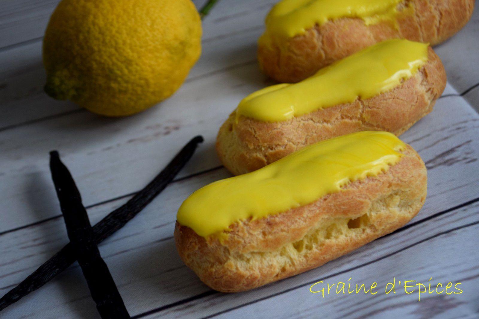 Eclairs légers au Citron