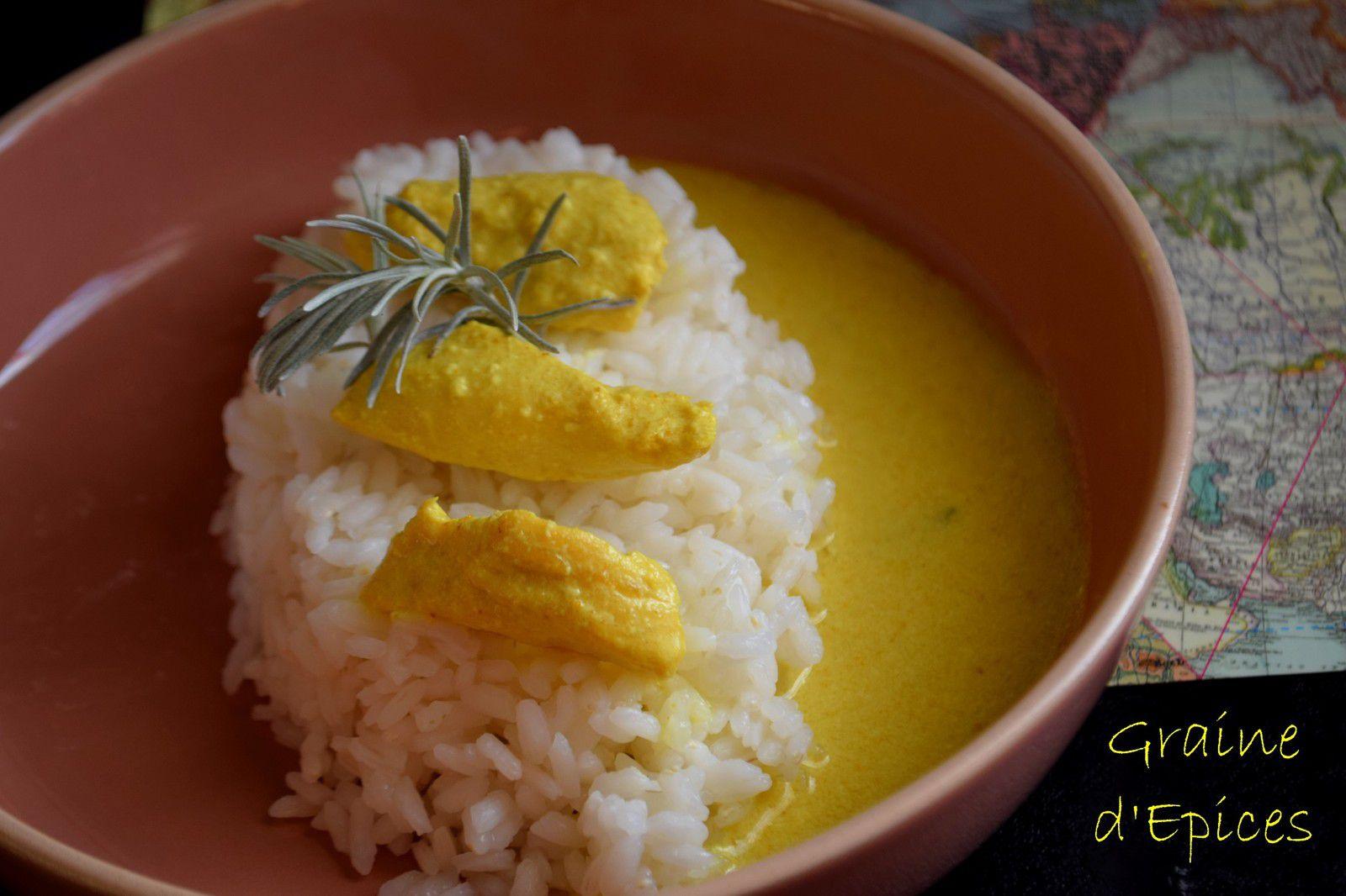 Aiguillettes de Poulet à l'Herbe à Curry