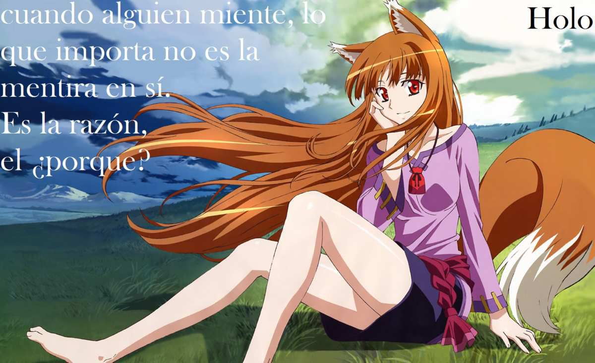 Holo: Spice and wolf