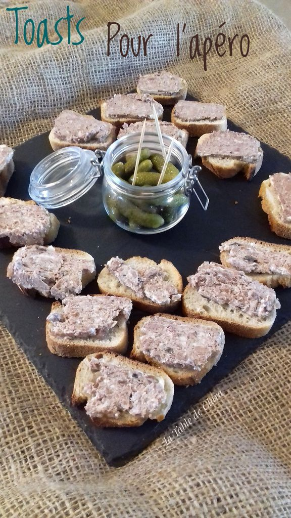 Toasts pour l'apéro (Provence Tradition)