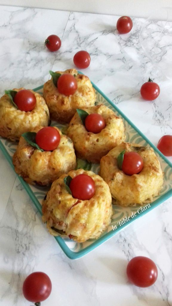 Terrine riz poivrons chorizo - Version mini