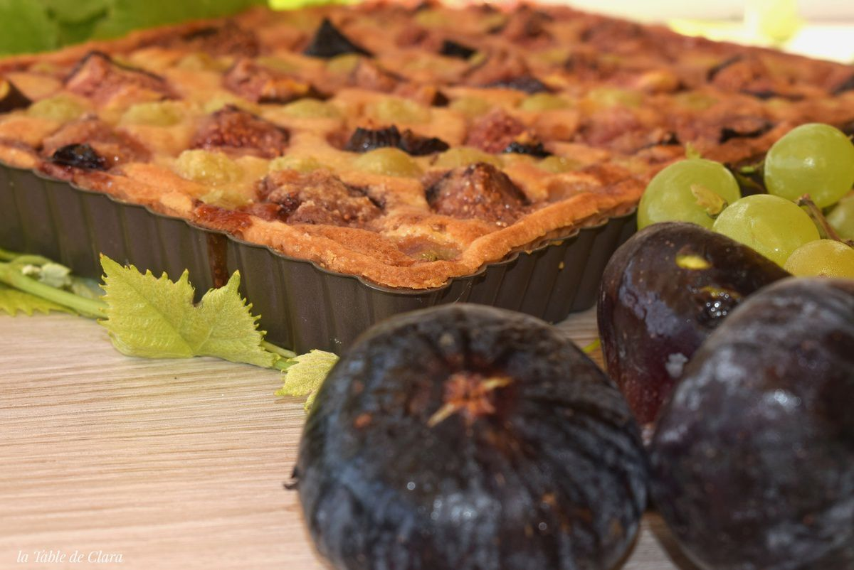 Tarte mi-figue mi-raisin