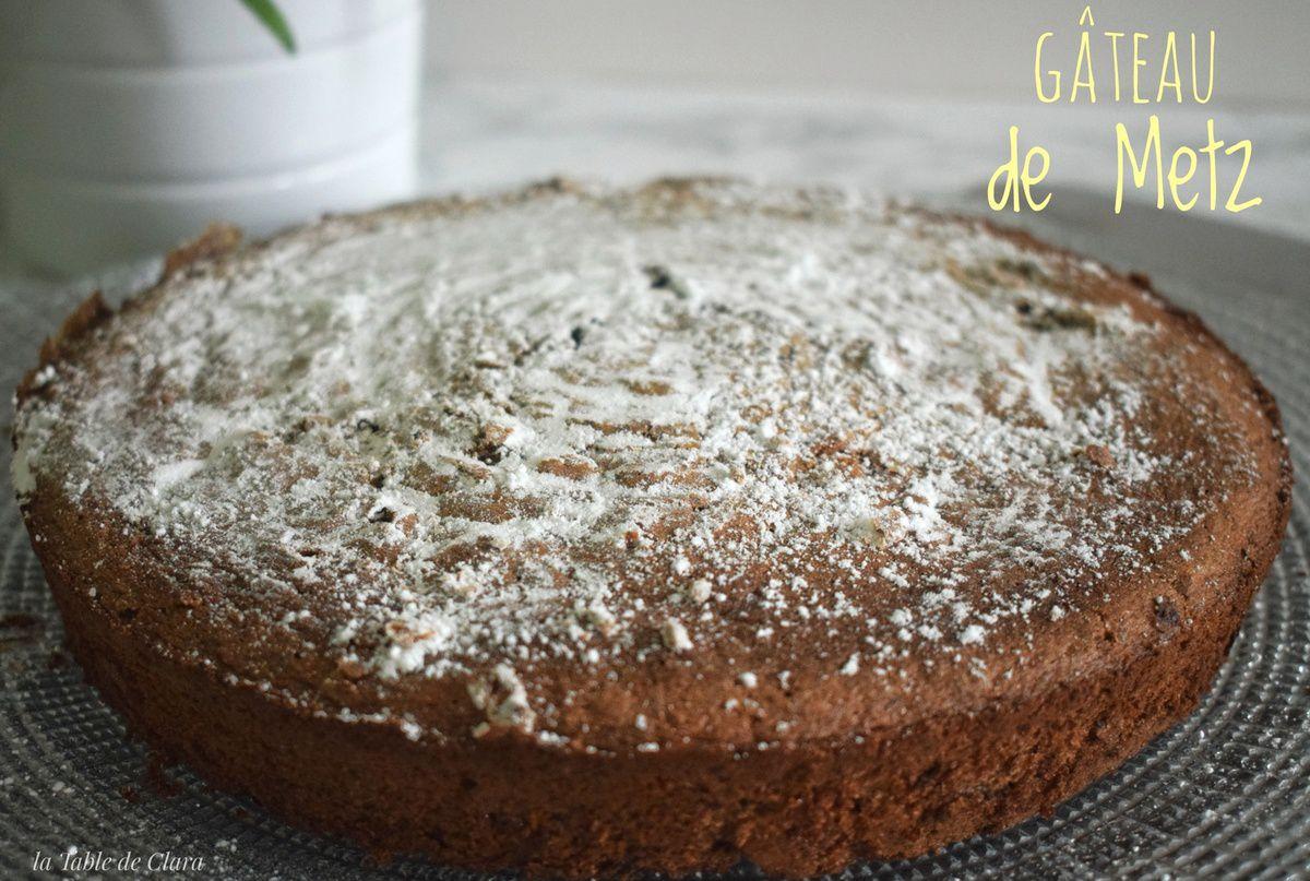Gâteau de Metz
