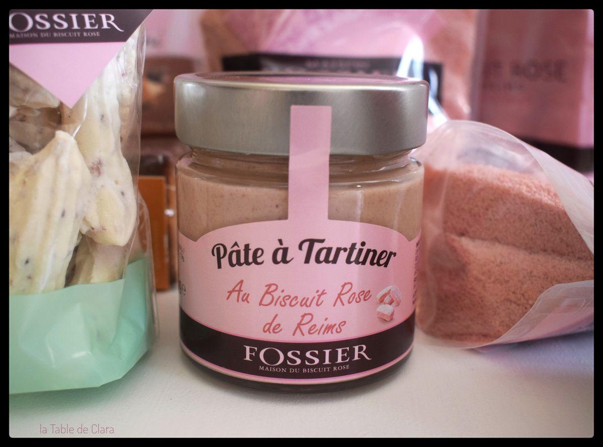 Maison Fossier ..... Le Biscuit rose de Reims