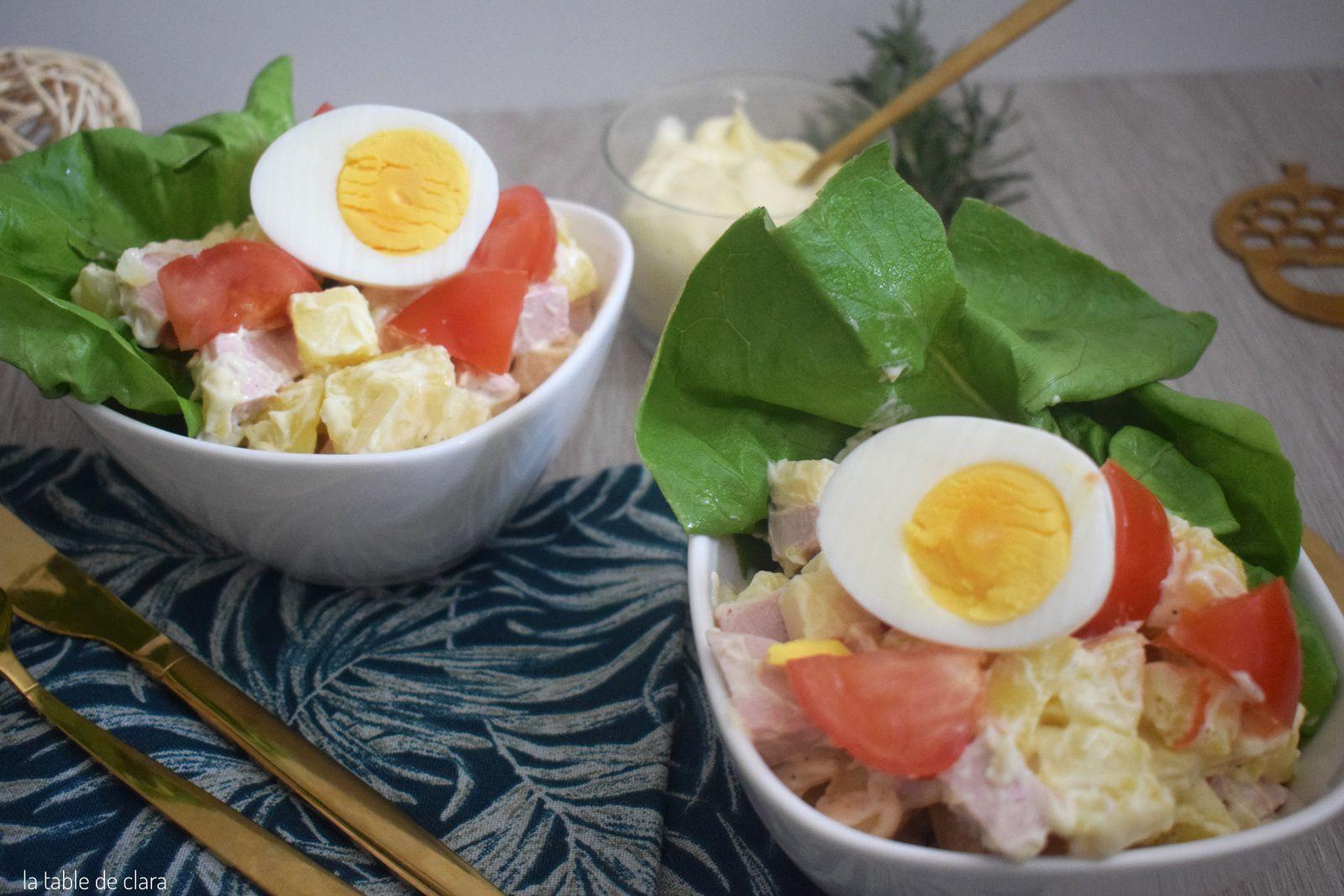 Ma salade alsacienne