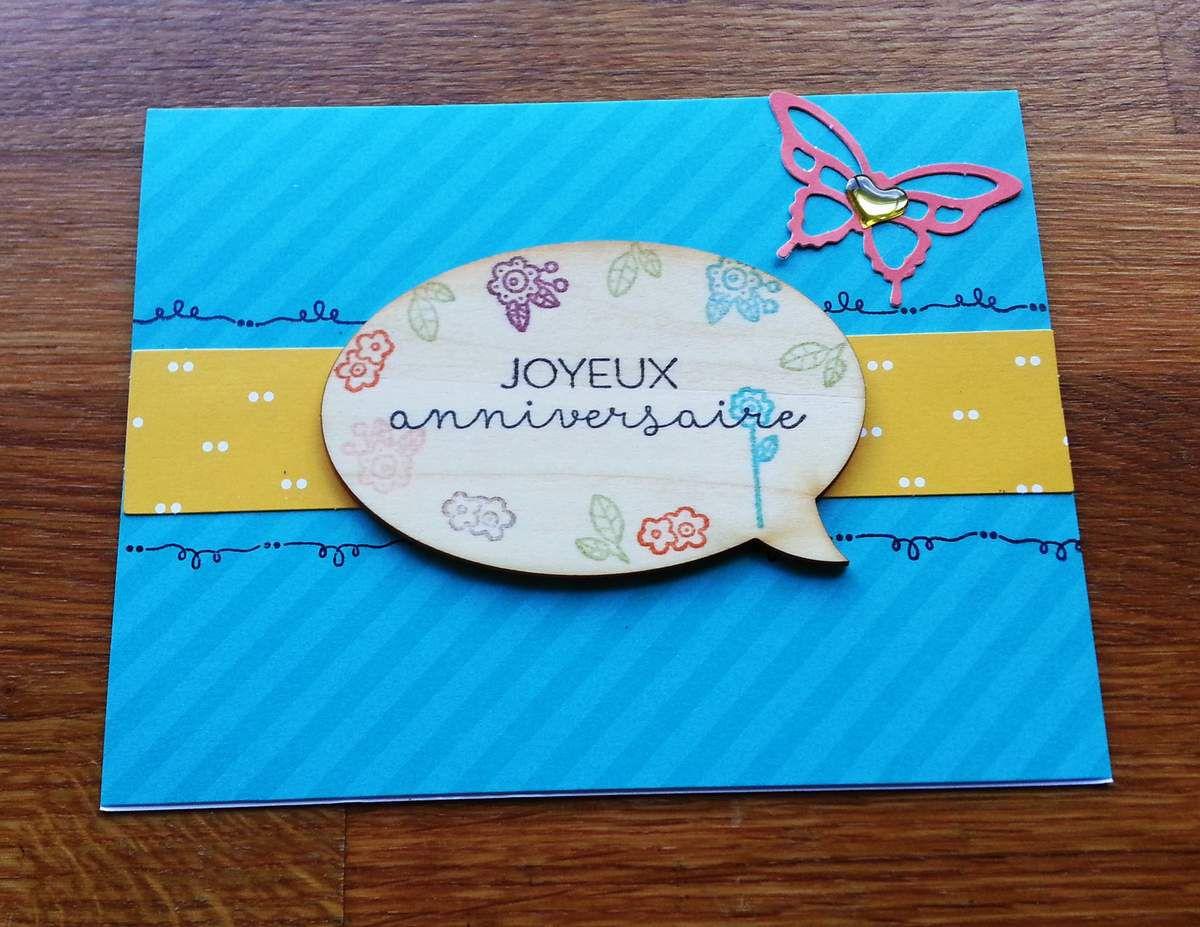 Joyeux anniversaire Sandrine