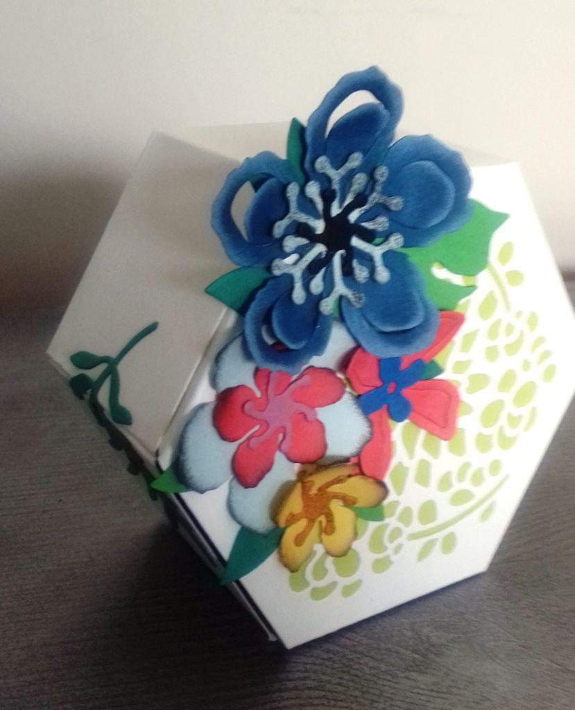 boîte cadeau pour la maîtresse