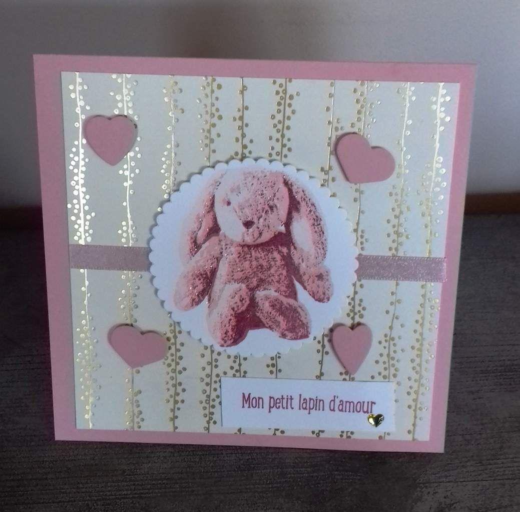 Carte de félicitations pour une naissance