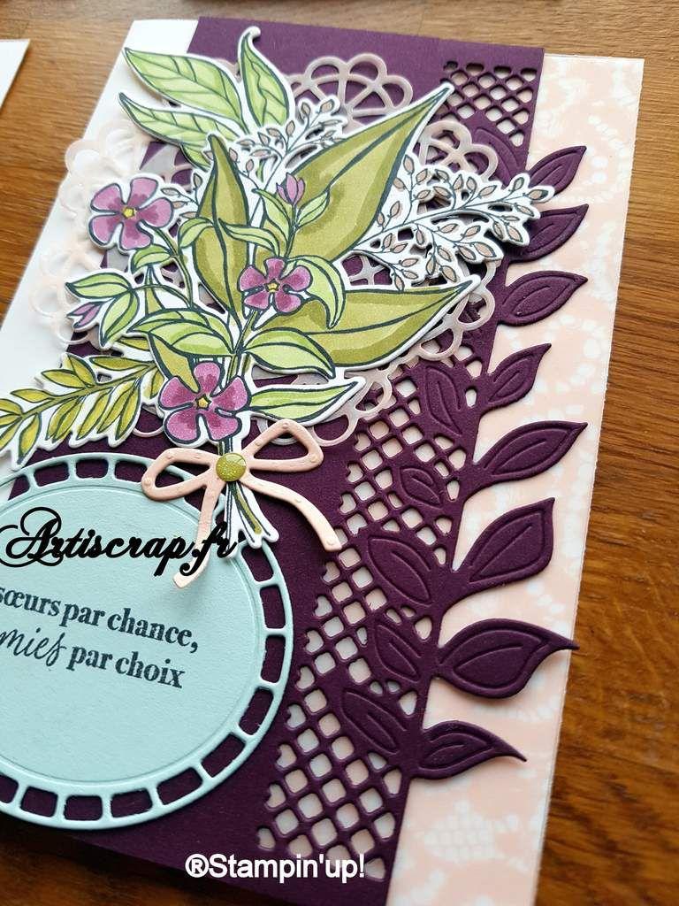 Cartes bouquet de fleurs merveilleuses