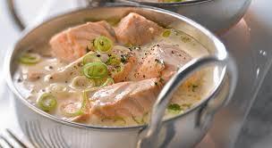 blanquette de saumon Cyril Lignac